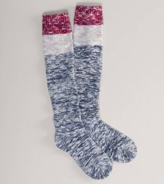 AEO Marled Boot Sock   American Eagle Outfitters
