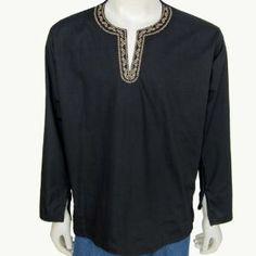 Mens Long Sleeve Casual Cotton Shirt Kurta India (Apparel)  http://www.picter.org/?p=B007CTT07G