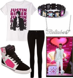 """""""Justin Bieber concert"""" by mirka07890 ❤ liked on Polyvore"""