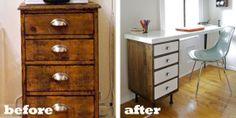 reuse drawers for desk