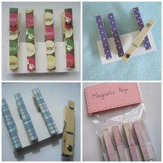 Magnetic pegs - The Supermums Craft Fair