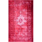 Found it at AllModern - Hawkesbury Overdyed Style Harper Pink Floral Area Rug
