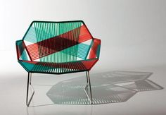 Cadeira por Patricia Urquiola. Fotos Marcelo Magnani.