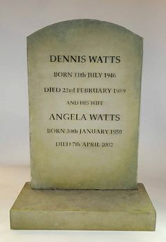 EastEnders Props: Den and Angie's Gravestone by Nat. Bbc History, Film Games, Old Tv Shows, Book Tv, Just Love, Den, Monuments, Soaps, Statues
