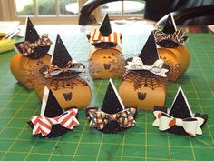 Halloween Curvy Keepaske Goodies & Witches Hats