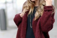 I LOVE the red sweater❤️