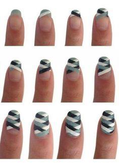 www.robe-discount.com Idée manucure pour mariage ou événement. Photo tutoriel ongles facile à réaliser