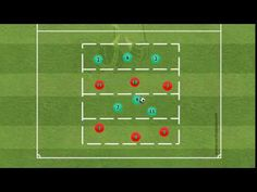 YouTube Soccer Drills, Youtube, Coaching, Play Spaces, Soccer Training, Soccer Practice, Warming Up, Workout Exercises, Sports