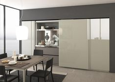 Minimal design Kitchen, but exclusive and sophisticated for the modern Twenty, too. Bespoke Kitchens, Luxury Kitchens, Home Kitchens, Modern Kitchens, Kitchen Interior, Kitchen Decor, Kitchen Cupboard Doors, Kitchen Cabinets, Kitchen Storage