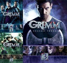 Grimm Seasons 1-3 DVD $49.99