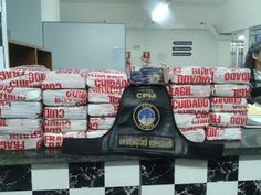 POLICIAMENTO METROPOLITANO - BM - RS: 27 kilos de cocaina apreendida em Canoas
