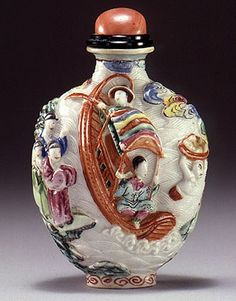 Snuff bottle from Beijing's 18th Century Imperial WorkshopsLooking for a way to kick that nasty smoking habit? Try snorting your tobacco, the way nature and the aboriginal Americans who first grew it intended. Continue reading →