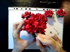 #rózsa8 #papír #rózsa #videó #tutorial #oktatóvideó #videó #ajándék #dísz #alkotásmánia