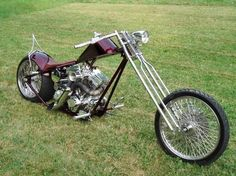Billy Lane's Nine Lives Chopper