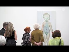 Marlene Dumas: The Image as Burden at Fondation Beyeler | VernissageTV Art TV