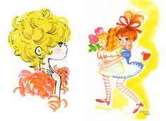 """""""Ado & Setsuko Lovely Lovely"""" Little Boy And Girl, Girls In Love, Little Boys, Illustration Girl, Character Illustration, Retro Cartoons, Cartoon Images, Illustrations, Book Design"""