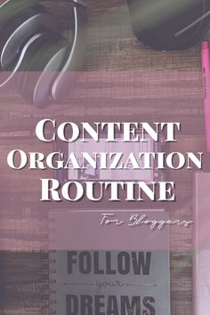 My favorite tips and tools for keeping myself organized as I plan my content My Brain, Life Planner, Blogging For Beginners, Getting Organized, No Time For Me, Lifestyle Blog, Dreaming Of You, Routine, Thats Not My