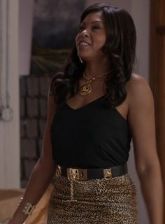 Cookie Lyon (Taraji P. Henson) wears BCBGMAXAZRIA, Chanel, and Asha New York on #EmpireFOX (1 x 3)