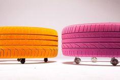 mesa de pneus