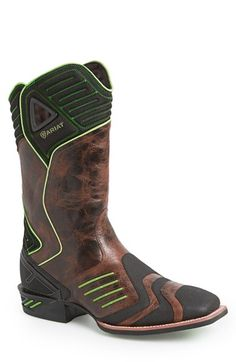 Ariat 'Catalyst VX' Performance Cowboy Boot (Men) available at #Nordstrom Very futuristic cowboy boot