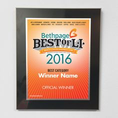 7f6b4f9c8ba21 Are you a winner of the Bethpage Best of LI  Promote your win with  promotional · Long Island ...