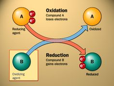 AS Chemistry - Redox Reactions and Group 2 Elements, OIL RIG Oxidation is loss of electrons (gain oxygen) and Reduction is gain of electrons (loose oxygen) Chemistry Classroom, Teaching Chemistry, Science Chemistry, Organic Chemistry, Physical Science, Earth Science, Science Experiments, High School Chemistry, Chemistry Notes