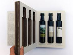 Creative Packaging Design for Triangolo dell'Olio