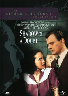 Shadow of a Doubt (1943) - Universal (USA, 2001) - The Alfred ...