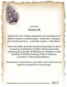 Napoleon Hill Scroll 12