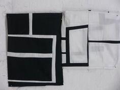 black & white line study