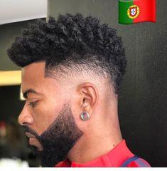 My hair goal! hair cuts black boys haircuts, hair et black m Black Boys Haircuts, Black Men Hairstyles, Hairstyles Haircuts, Haircuts For Men, Hair And Beard Styles, Curly Hair Styles, Black Hair Cuts, Men Hair Cuts, Afro Fade