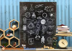 Hey, I found this really awesome Etsy listing at https://www.etsy.com/listing/160849171/alpha-ologies-alphabet-science-wall-art