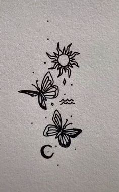 Bild Tattoos, Dope Tattoos, Dream Tattoos, Future Tattoos, Body Art Tattoos, Tattoo Drawings, Tatoos, Cute Tiny Tattoos, Dainty Tattoos
