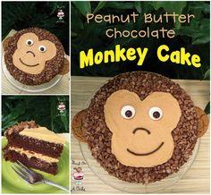 Peanut Butter Chocolate Monkey Cake