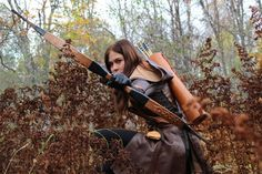 girl with arrow