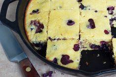 blueberry corn bread
