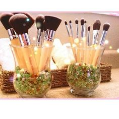 Hair and Makeup Addiction brushes - complete luxury set
