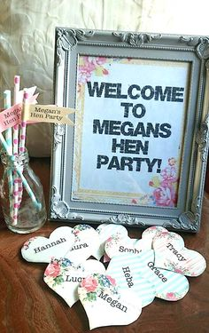 'The Finishing Touches' included in all our crafty hen packages.  Check out our blog for the badge tutorial!