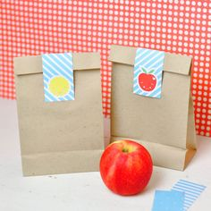 Cute School Lunch Bag Free Printable Tags