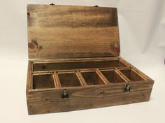 Organize, display and carry your decks to your next MTG game in style. Designed by a player for a player, this box is built of solid pine with with