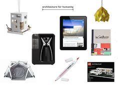 ArchDaily Architect's Holiday Gift Guide 2012. Tem muita coisa bacana!