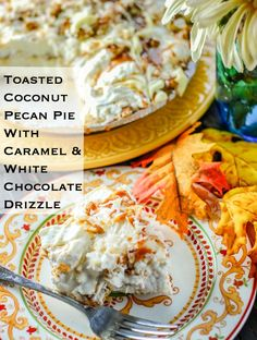 Toasted Coconut Pecan Pie