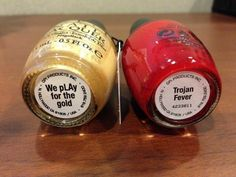 229e1226b9804 New OPI USC Trojans nail polish!!! Trojan Fever and We pLAy for the