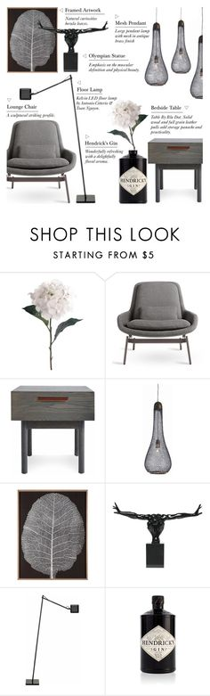 """""""Black on Black - Decor AW15"""" by rachaelselina ❤ liked on Polyvore featuring interior, interiors, interior design, home, home decor, interior decorating, Pavilion Broadway, Blu Dot, Arteriors and Natural Curiosities"""