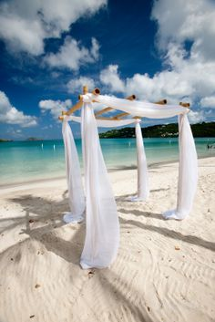 Great beach wedding location if ceremony held before 10 am or after 4:30 pm. Other wise way to busy if you want an intimate ceremony.