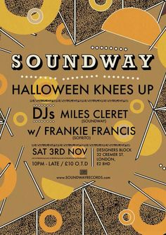 Soundway Halloween Knees Up | 3 Npv | Designers Block, Shoreditch, London 10pm-Late « Soundway Records