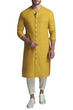 Shop Suta & Co - Men Pintuck kurta with pants , Exclusive Indian Designer Latest Collections Available at Aza Fashions Nigerian Men Fashion, Indian Men Fashion, Mens Fashion Suits, Men's Fashion, Wedding Kurta For Men, Wedding Dresses Men Indian, Wedding Suits, Indian Dresses, Gents Kurta Design
