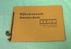1950's Amsterdam Rijksmuseum Art Museum Booklet Old Masters Paintings Vintage