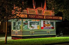 Americana by Doug Wallick on Capture Minnesota.  The lonely hot dog stand at Whiz Bang Days (the annual city celebration in Robbinsdale, MN) after the fireworks and when most people had gone. It is probably at a different city celebration each summer weekend. 2014-07-13; Robbinsdale MN.