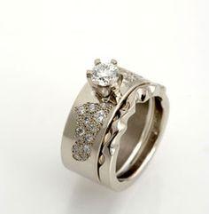 Camilla Gough ring set